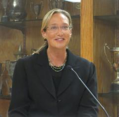 """""""Serving in county government offers the opportunity for regional solutions on behalf of multiple towns to support and improve our community,"""" Ms. Fleming said."""